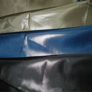 Nylon Taffeta Fabric with Waterproof and Calendered for Garment Fabric pictures & photos