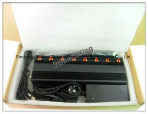8 Antenna 4G Lte CDMA 3G GSM GPS WiFi VHF UHF Walk Talkie Cellular Jammer pictures & photos