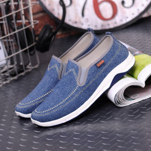 Spring New Old Beijing Men′s Cloth Shoes Low Flat Korean Fashion Casual Shoes Deodorant Tide Men′s Shoes pictures & photos