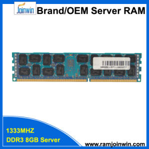 Registered Dual Rank*4 PC3-10600r 8GB DDR3 RAM for Server pictures & photos