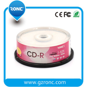 Free Sample Ronc Blank CDR 700MB 52X pictures & photos