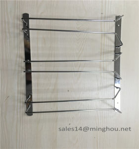 Under Cabinet Kitchenware Hanging Stemware Rack Cup Rack Wine Glass Rack pictures & photos
