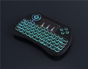 I9 Colorful Backlight 2.4G Wireless Air Mouse Keyboards pictures & photos