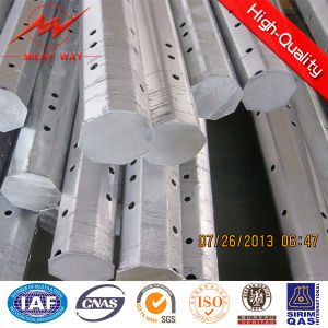 Galvanized Round Tubular Steel Poles for Transmission Distribution Line pictures & photos