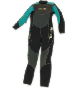 Women′s Long Neoprene Surfing Wetsuit (HX15L34) pictures & photos