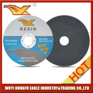 125X1X22mm Super Thin Cutting Disc for Metal pictures & photos
