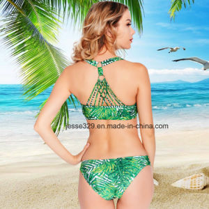 Popular Sexy Hand Crochet Two-Piece Bikini (MP-6164W) pictures & photos