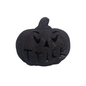 Black Color Ceramic Halloween Decoration Pumpkins pictures & photos