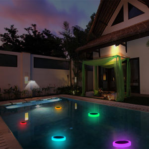 Solar LED RGB Swimming Pool Light with Remote Control pictures & photos