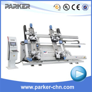 Corner Crimping Machine CNC Four Head Aluminum Window Machine pictures & photos