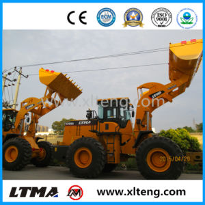 Construction Machine 5 Ton Widely Used Wheel Loaders in Europe pictures & photos