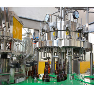 3000 Bottles Per Hour Automatic Glass Bottle Beer Filling Machine pictures & photos