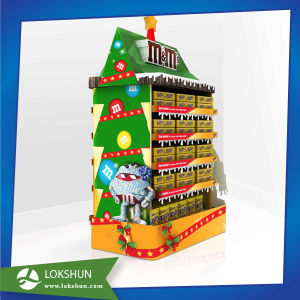 POS Supermarket Cardboard Pallet Display for Chocolate Christmas Goods pictures & photos