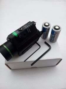 Tactical Hunting Green Laser Sight and 200 Lumen CREE Q5 LED Light Combo with Strobe Laser pictures & photos