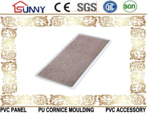 Hot Stamping Transfer Printing PVC Ceiling Wall Panel pictures & photos
