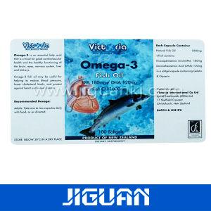 Custom Logo Printing Cosmetic Sticker pictures & photos
