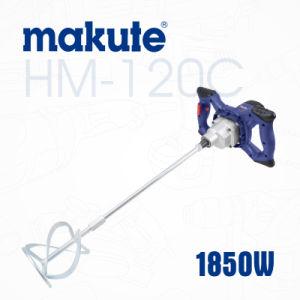 Makute Electric Hand Paint Concrete Mixer (HM-120C) pictures & photos