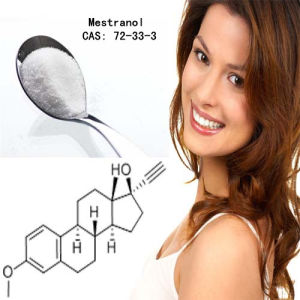 Best Selling Estrogen Mestranol CAS No: 72-33-3 pictures & photos