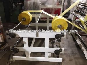 High Speed 4 Lines Automatic Nylon Plastic Garbage Trash Shopping Carry Bag Making Machine Price pictures & photos