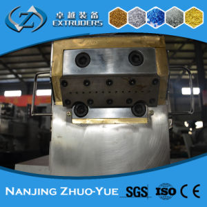 Twin-Screw Granulating Recycled Plastic Color Masterbatch Extruder pictures & photos