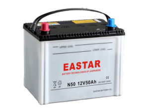 China Manufacturer Wholesale Lead-Acid Automotive Start Car/Truck Battery /Bus Battery N50 12V 50ah for Vehicles pictures & photos