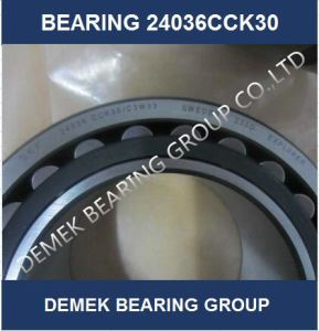 High Quality Spherical Roller Bearing 24036 Cck30c3w33 with Steel Cage pictures & photos