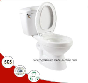 861 Upc Siphonic Water Closet, Ceramic Two-Piece Toilet, Toilet, Sanitary Ware pictures & photos
