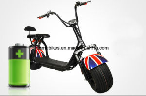 1000W Cicycoco Electric Scooter with 60V/30ah F/R Suspension pictures & photos