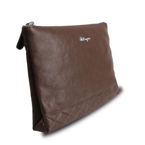 Men Business Envelope Clutch Bag Genuine Leather Crocodile Wristlet Bags pictures & photos