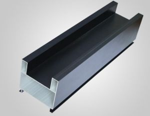 OEM 6063/6061 Anodised Aluminum Extruded Profiles pictures & photos