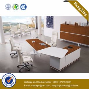 Hot Sale Furniture Wooden L Shape Manager Office Table (HX-GD011) pictures & photos