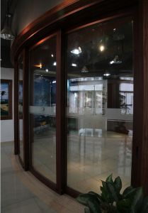 Deluxe Grand Aluminium Curved Sliding Door (BHA-DSA06) pictures & photos