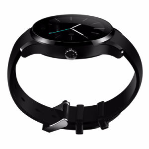 Luxury Slim Bluetooth Smart Watch K88s Wristwatch SIM Card NFC Smartwatch Pedometer Sleep Monitor pictures & photos