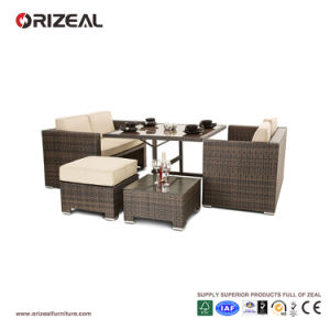 Outdoor Cube Rattan 4-Seater Sofa Set Oz-Or062 pictures & photos