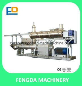 Twin Screw Wet Steam Feed Extruder for Aquafeed and Livestock Feed--Animal Feed Extruding Machine (TSE128) pictures & photos