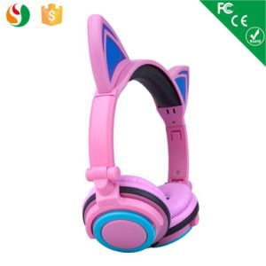 Pink Color Foldable Light Music Headphone Stereo pictures & photos