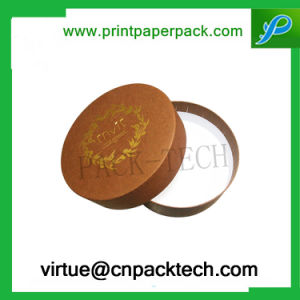 Luxury Custom Round Design Cardboard Flower Gift Box pictures & photos