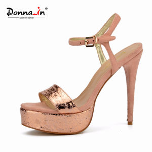 Lady Casual High Heels Platform Stiletto Dress Shoes Women Sandals