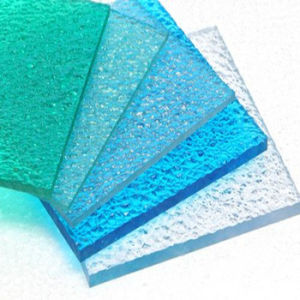 Bayer Material Embossed Polycarbonate Diamond Sheet with 10 Years Warranty pictures & photos