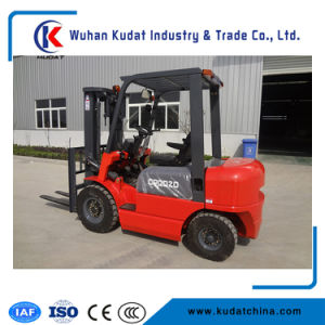 Counterbalanced LPG Forklift Truck 3.5ton Gas Forklift pictures & photos