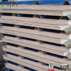 EPS Heat Insulated Steel Sandwich Panel pictures & photos