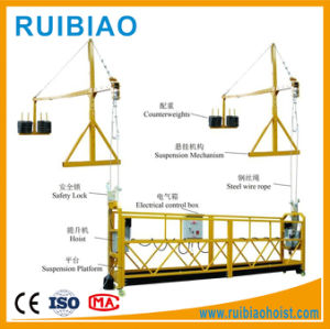 Zlp630/Zlp800/Zlp1000 Aluminum Gondola Working Platform/High Building Gondola Lift pictures & photos