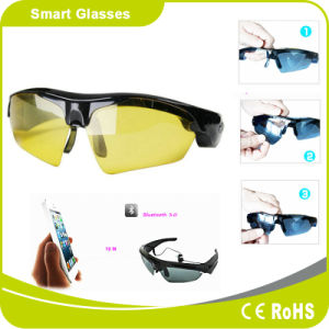 Bluetooth Headset Cycling Polariscope Bluetooth Sunglasses pictures & photos