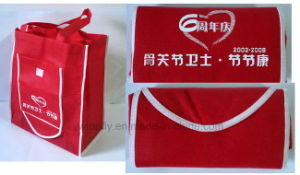 Topfly Brand Promotional Folding Non-Woven Bag pictures & photos