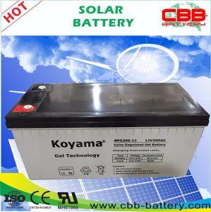 Lead Acid 12V200ah Sealed Gel Solar Battery pictures & photos