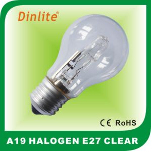 Energy saving A19 frost E27 halogen bulb pictures & photos