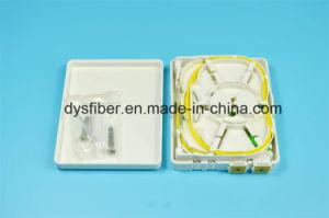 FTTH 2 Ports Mini Fiber Termination Box pictures & photos
