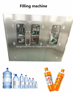 Complete Automatic China Packaged Drinking Water Bottle Filling Bottling Plant Machine for Pet Bottle pictures & photos