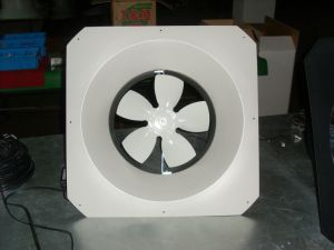 Wall Mounted DC Solar Power Axial Exhaust Fan pictures & photos