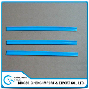 Respirator Parts Aluminium Wire Flat Plastic Coated Nose Clip pictures & photos